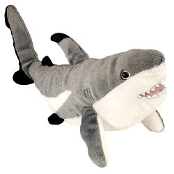 Cuddly Toy Blacktip Reef Shark