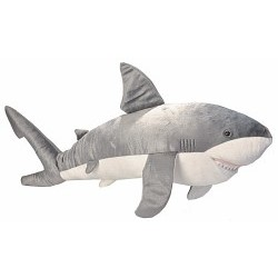 Jumbo Shark Plushie, Great White